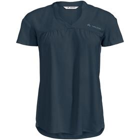 VAUDE Turifo Hybrid Shirt Women, bleu